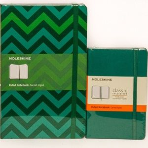 Moleskine 2 piece Notebook Set - NWT